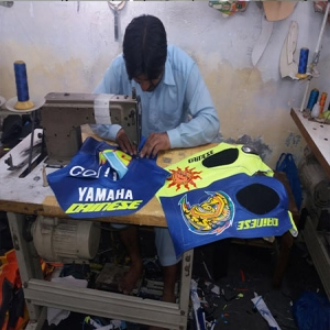 Yamaha Suit Stitching